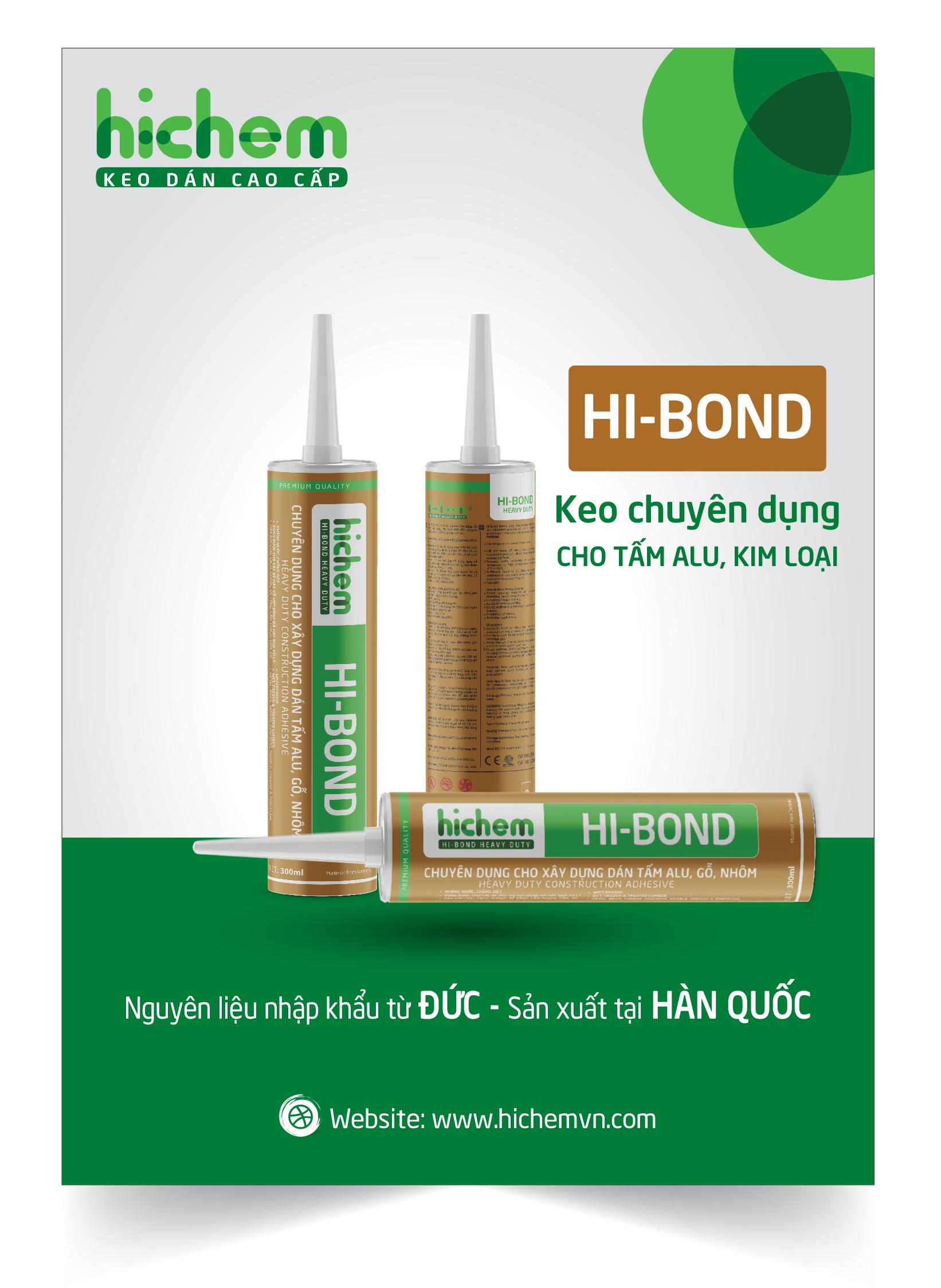 Keo chuyên dụng cho xây dựng Hi-bond